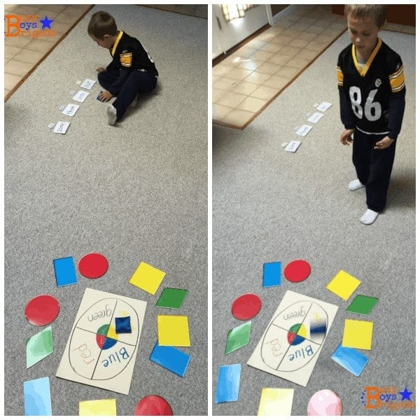 Sight words activities like this bean bag toss can be a great kinesthetic way for early readers to practice sight words.