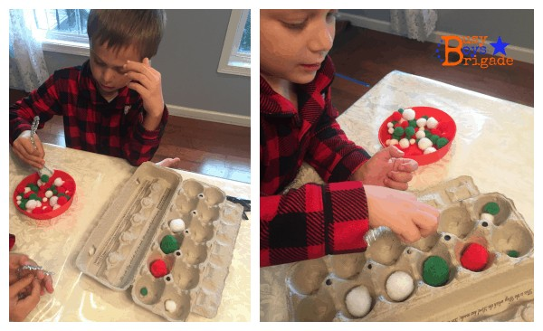 holiday learning fun mini snowball game
