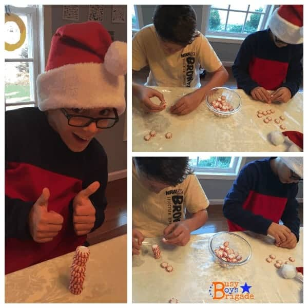 holiday learning fun peppermint stack
