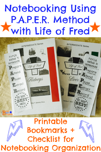 notebooking Life of Fred