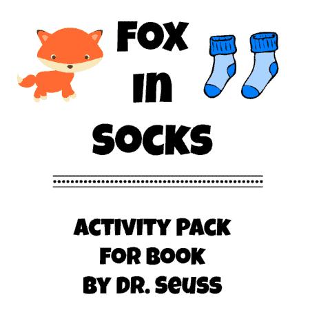 fox-in-socks-activity-pack
