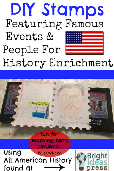 DIY Stamps Famous Events People History Enrichment All American History-Busy Boys Brigade