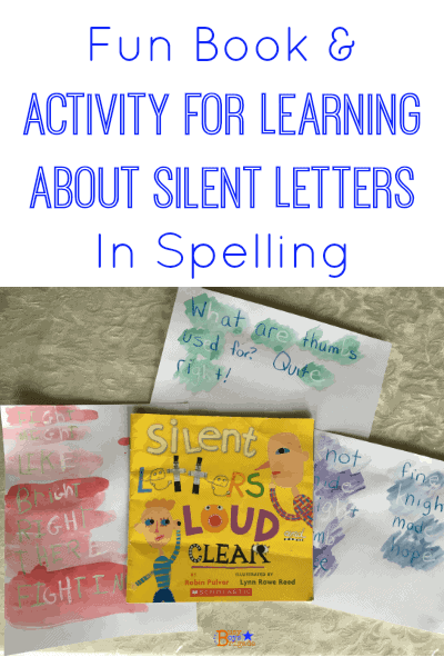 Silent Letters Loud and Clear Activity - Busy Boys Brigade