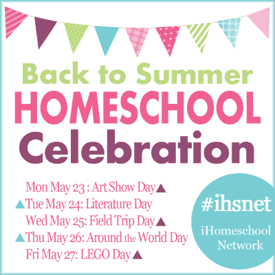 Back to Summer Homeschool Celebration going on over at iHomeschool Network.