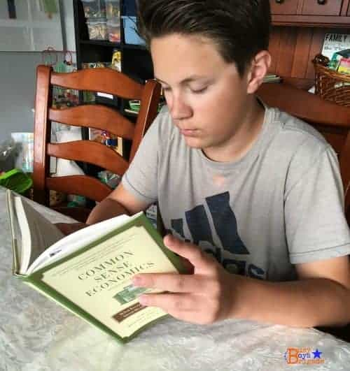My teen is learning so much from this Christian economics curriculum by IFWE.