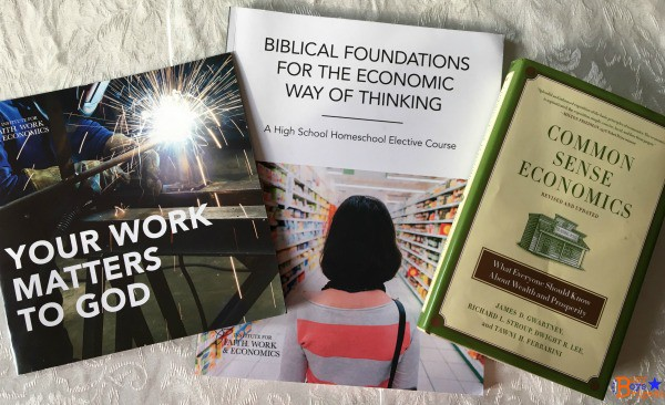 Check out this Christian economics curriculum for homeschool teens. Fantastic resources for helping your teens (and yourself!) be better stewards of money and time.