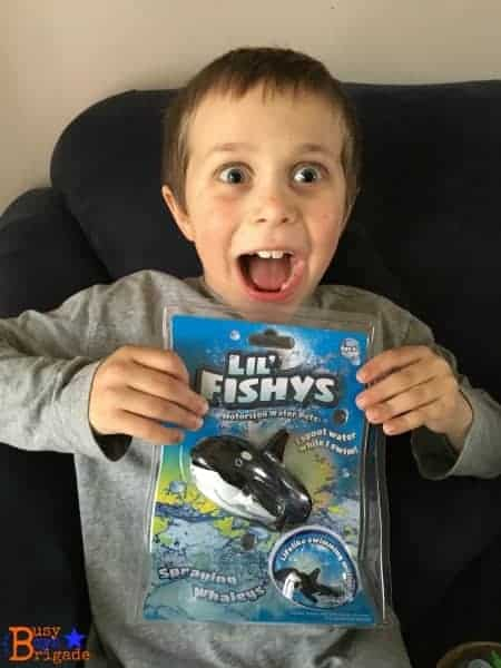 Lil' Fishys toys are affordable ways to add to your kids' summer learning fun.