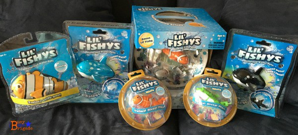 Lil Fishys are cute swim toys that can add hours of summer learning fun that kids will love.