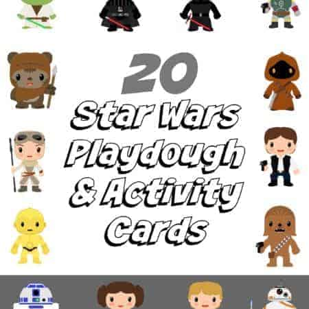 Star Wars Playdough Activity Cards COVER