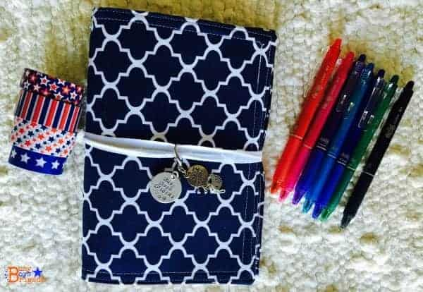 Homeschool Planning can be easy and affordable! Learn why I love to use traveler's notebooks for simple and frugal homeschool planning.