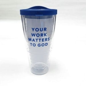 Cool tumbler from Institute for Faith, Works and Economics. Christian Economics course.