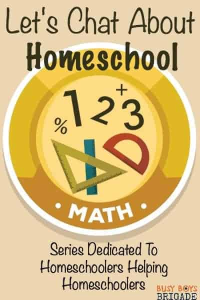 Let's chat about homeschool math is a Periscope & blog series dedicated to homeschoolers helping homeschoolers.