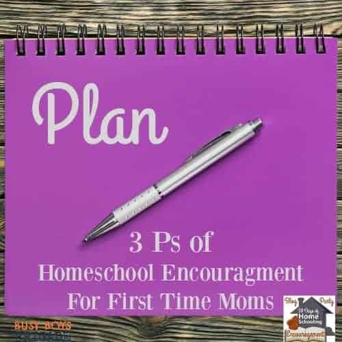 3 Ps of Homeschool Encouragement for First Time Homeschool Moms is part of 20 Days of Homeschooling Encouragement.