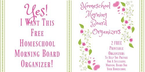 Get your free homeschool morning time board organizers when you subscribe to Busy Boys Brigade.