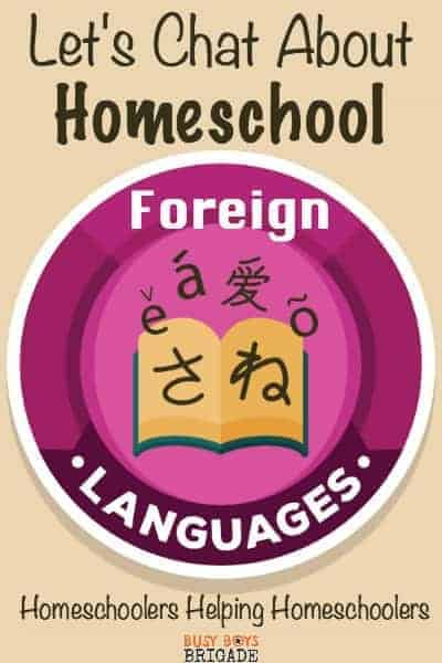 Let's chat about homeschool foreign languages curriculum is part of a Periscope & blog series dedicated to homeschoolers helping homeschoolers.