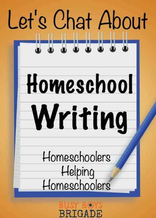 Let's chat about homeschool writing is part of a blog & Periscope series dedicated to homeschoolers helping homeschoolers with curriculum choices. Find great recommendations and resources on homeschool writing here!