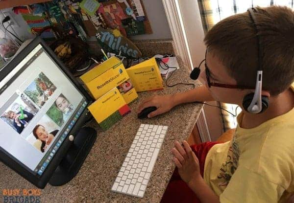 Discover why Rosetta Stone Homeschool French is wonderful for large homeschool families.