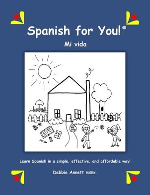Spanish For You! is an excellent resource recommended in Let's Chat About Homeschool Foreign Languages Curriculum.