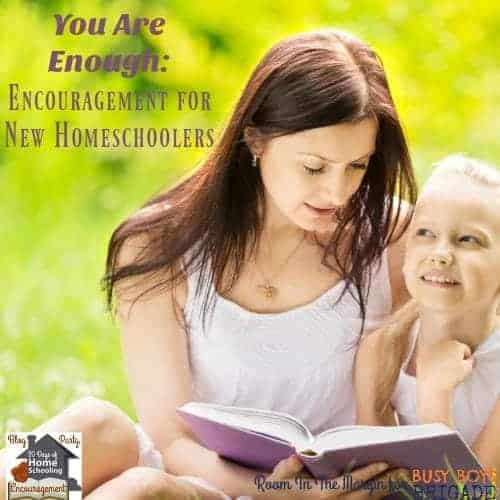 Discover why you are enough to homeschool your kids. Teacher-turned-homeschooler Jennifer of Room In The Margins shares her experiences & tips for when you don't feel enough. Part of 20 Days of Homeschooling Encouragement.