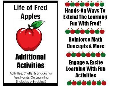 Life of Fred Apples Additional Activities is full of hands-on ways to reinforce math concepts and more presented in this fantastic first book of elementary math series.