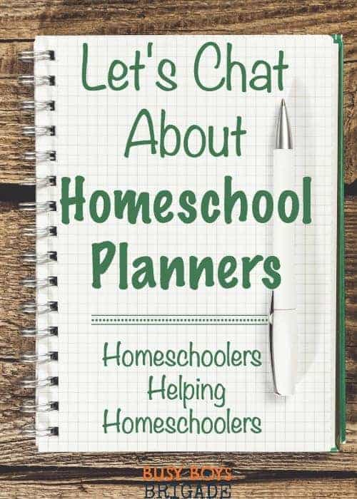 Let's chat about homeschool planners is part of a Periscope & blog series dedicated to homeschoolers helping homeschoolers find great resources. Find information and recommendations on homeschool planners-and share your own!