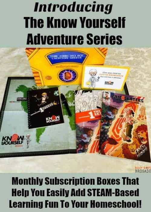 The Know Yourself Adventure Series are monthly subscription boxes full of stories, lessons, and activities to help you add STEAM-based learning fun to your homeschool. Find out more about this new resource & how you can get in on the fun!