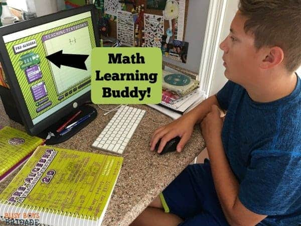 Teaching Textbooks is a great way to engage your reluctant math students.