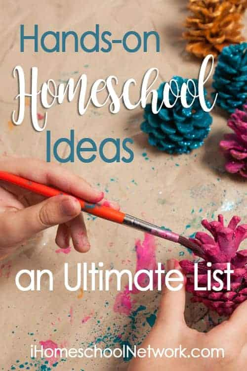 Get great hands-on homeschooling ideas at iHomeschool Network's link-up!