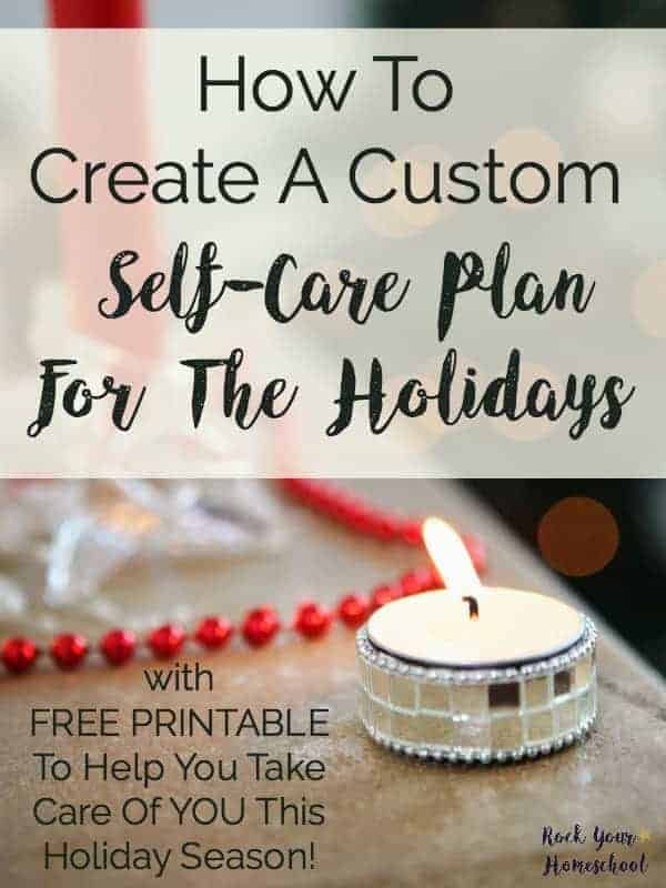 Are you already feeling stressed with the approach of the holiday season? This year, take control & get ready by forming a custom self-care plan for the holidays. Use this FREE PRINTABLE to guide you in creating actionable steps to a more healthy & happy holiday season.