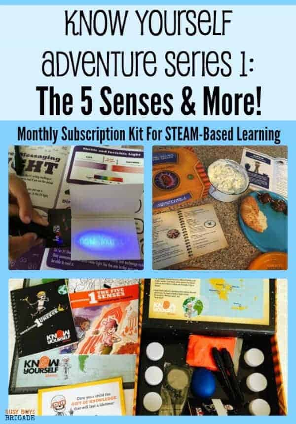 The Know Yourself Adventure Series 1 is a monthly subscription kit filled with STEAM-based learning resources. If you like to help your kids get engaged & excited in their homeschool learning, you must check out Know Yourself! Adventure Series 1 explores the 5 Senses & so much more! Find out how you can get this valuable resource now!