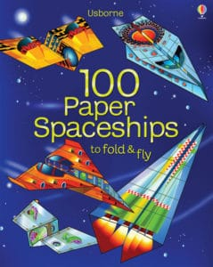 Use this 100 Paper Spaceships book by Usborne for tons of homeschool math fun.