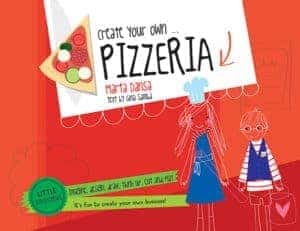 Your kids will have a blast with books like Create Your Own Pizzeria for practicing reading, writing,and entrepreneurship skills.