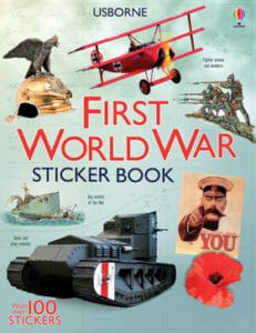 History sticker books are fabulous for hands-on learning fun in your homeschool.