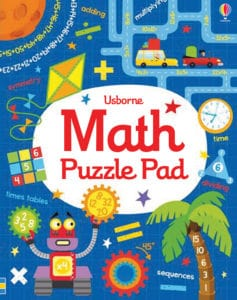 Add math puzzles to your homeschool for learning fun.