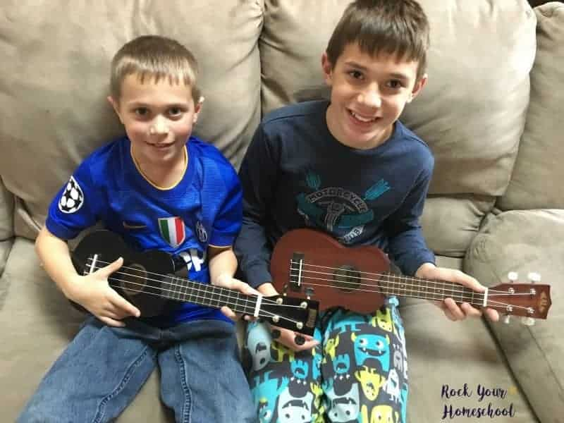 The ukulele is an amazing way to connect and learn with your kids.