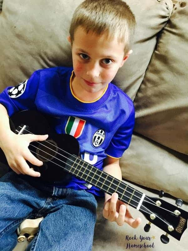 The ukulele is a wonderful musical instrument to learn with your kids.