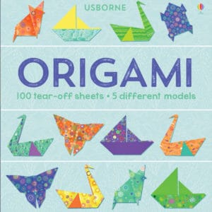 This origami book from Usborne is a great gift idea for your kids who love crafts.