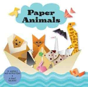 Origami Paper Animals from Usborne is fun for kids who love crafts.