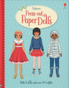 Usborne Press-Out Paper Dolls can be great craft fun for kids.
