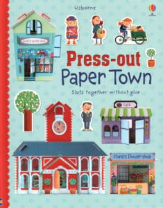 Press-Out Paper Town by Usborne is a great way for younger kids to have craft fun.