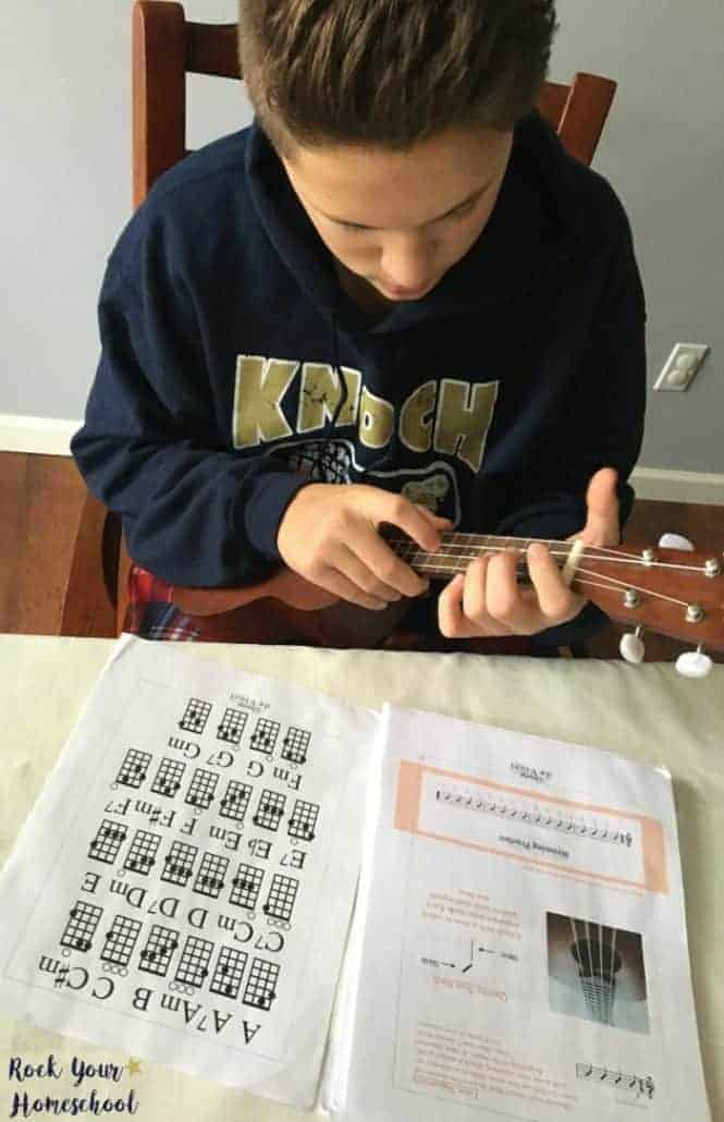 The ukulele is a fantastic musical instrument to learn with your kids.