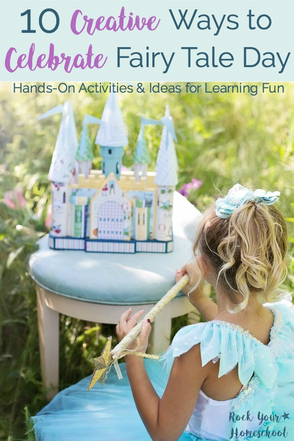 Add sparkle to your learning fun with these 10 Creative Ways to Celebrate Tell A Fairy Tale Day! Hands-on activities, games, & more to boost learning. Includes helpful resources for fairy tales.