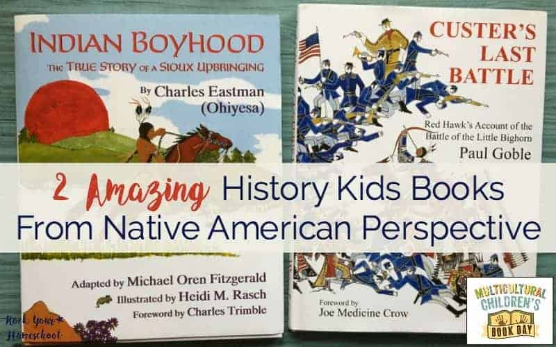 Check out these 2 amazing history books from Native American perspective.
