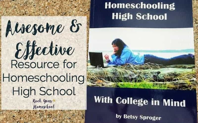 If you have any fears about homeschooling high school, you need to check out this amazing resource! Filled with practical tips & encouragement, you will get the help you need for your homeschool teens.