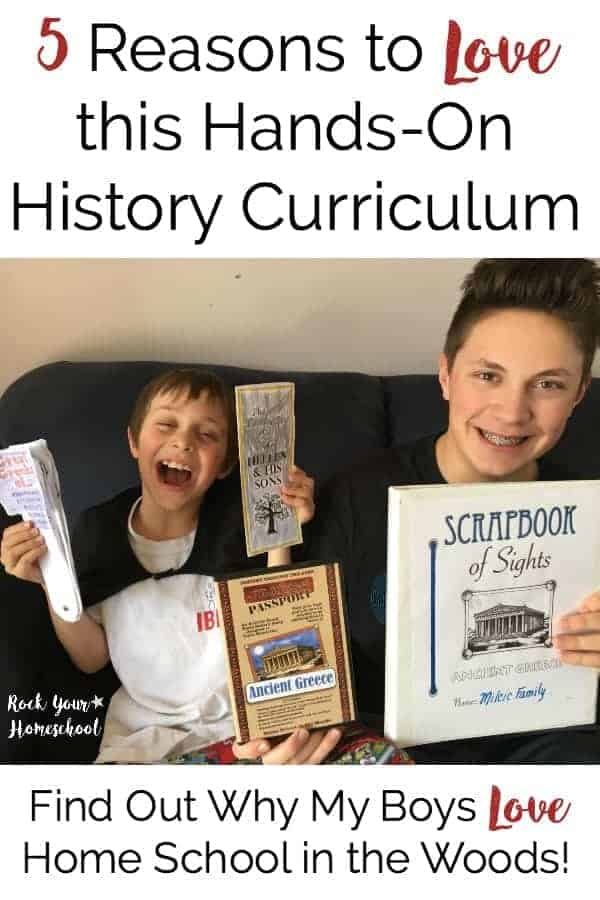 Find out why my 5 boys love this hands-on history curriculum from Home School in the Woods. Check out our experiences and see if World History Studies through Project Passport would be fantastic for your family.